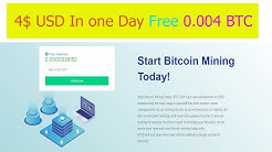 0.0004 BTC In One Day | 4$ USD In One Day Without Investment | Without Any Work