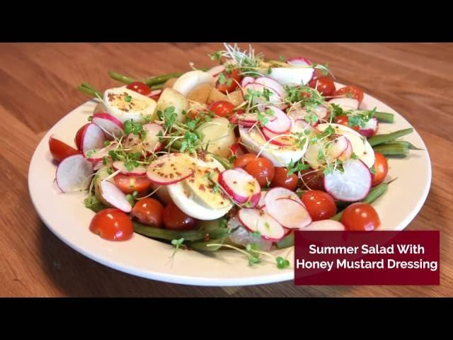 Red Tractor, British Summer Salad