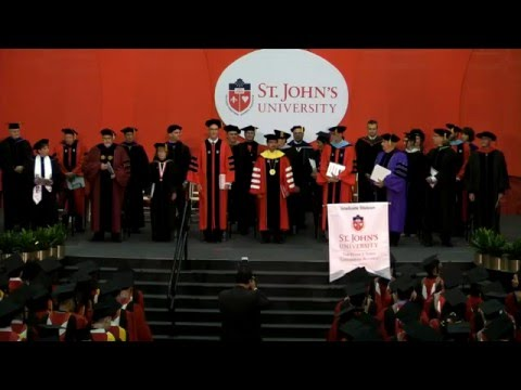 The Peter J. Tobin College of Business Commencement for Graduate Programs