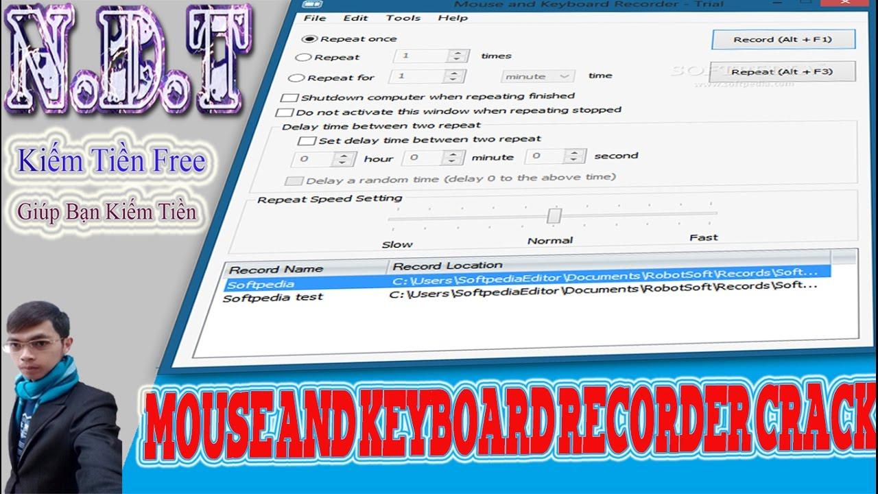 robotsoft automatic mouse and keyboard key