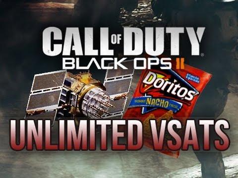 Black Ops 2 | Amazing 6 Orbital Vsat Scorestreaks In 1 Game! (COD BO2 Slums Multiplayer Gameplay)