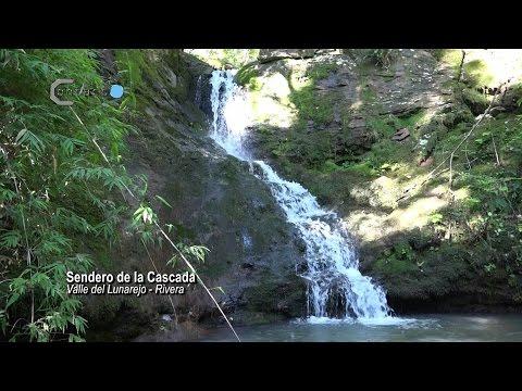 Valle del Lunarejo sendero La Cascada