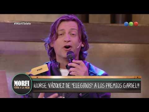 """Jorge Vázquez canta """"Garganta con arena"""" - Morfi"""