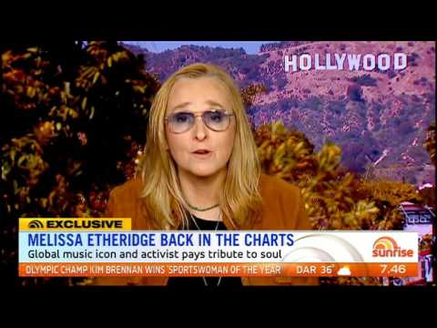 Melissa Etheridge - Sunrise interview Oct 2016