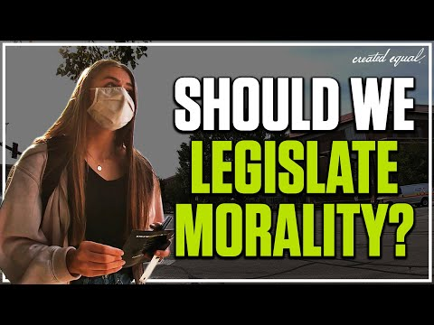 Should We Legislate Morality?