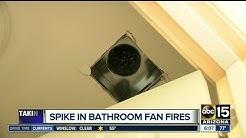 Bathroom vents: a hidden fire danger in your home