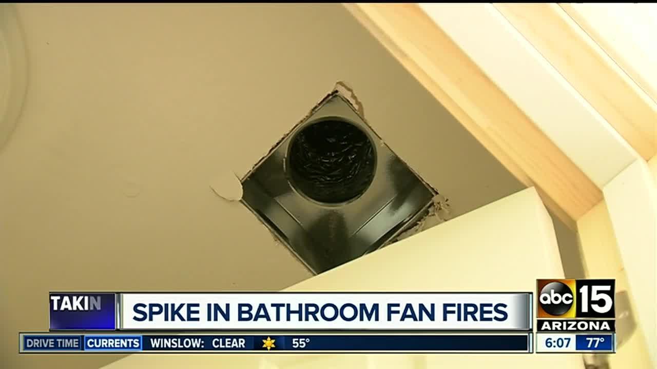 bathroom vents a hidden fire danger in your home
