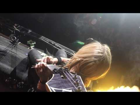 Nita Strauss Guitar Solo Ralston Arena 2016- GOPRO VIEW