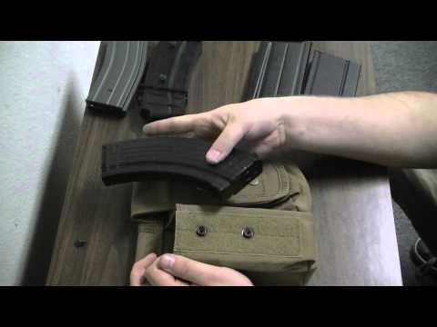 Airsoft GI Uncut - Compatibility Check with Harrison - Condor Dual AK Magazine Pouch
