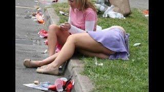 Пьяные девушки видео приколы
