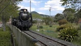 有田川鉄道公園 D51 827+キハ58 003を撮影