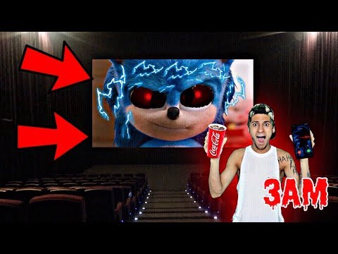 DO NOT WATCH SONIC.EXE MOVIE AT 3AM!! *OMG SONIC THE HEDGEHOG ACTUALLY CAME TO MY HOUSE*