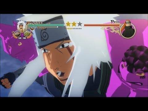 Naruto Ninja Storm 2 Trilogy PC MOD Walkthrough Part 18 60 FPS  Sage Sannin Jiraiya vs Animal Path