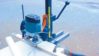 Самодельный фрезерный станок по дереву своими руками.Часть 1 Homemade milling machine for wood.(Как сделать фрезерный станок по дереву своими руками. В этом видео я расскажу про крепление ручного фрезера..., 2015-04-04T21:00:01.000Z)