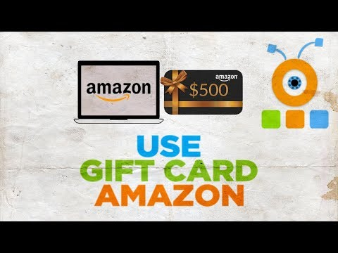 How To Use A Gift Card On Amazon
