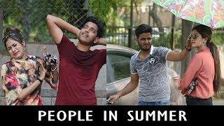 People In Summer | Abhishek Kohli