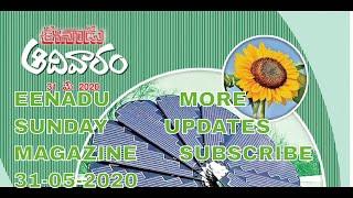 EENADU SUNDAY MAGAZINE | 31-05…