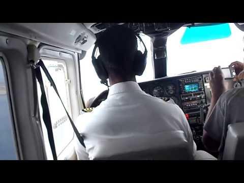 Landing @ Maurice Bishop International Airport, Grenada GND, BN2 Islander