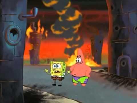 Spongebob sings we are young