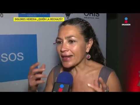 Dolores Heredia confesó que ha sido rechazada por productores | Sale el Sol