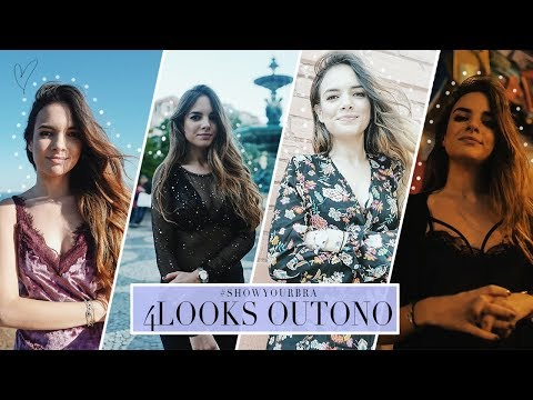 4 LOOKS DE OUTONO #ShowYourBra #AD | A Maria Vaidosa