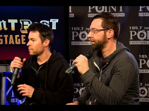 Chevelle backstage at Pointfest
