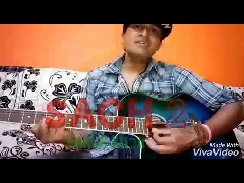 Sach 2 -kamal khan // Jatinder jeetu // Guitar Chords Lesson // with easy strumming