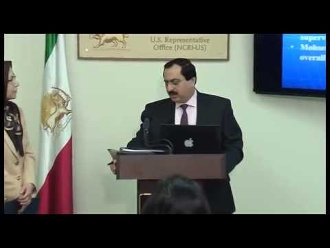 NCRIUS Press Conference on Iran Nuclear weapons program-Parchin Mystery-7Nov2014