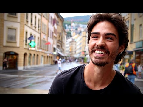 Asking Swiss People What Makes Them HAPPY | Social Experiment Neuchâtel Switzerland