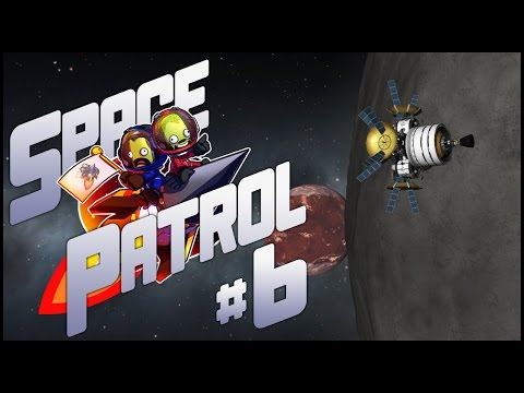 "Space Patrol #6 - ""Probing Ike"" - modded Kerbal Space Program"