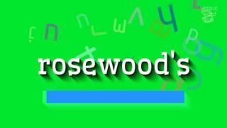Download lagu How to sayrosewood s MP3
