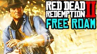 RED DEAD REDEMPTION 2 Free Roam\\ RDR2 FREE ROAM SIDE MISSIONS