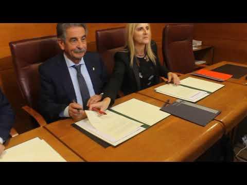 Firma del acuerdo para la aprobación de los Presupuestos 2019