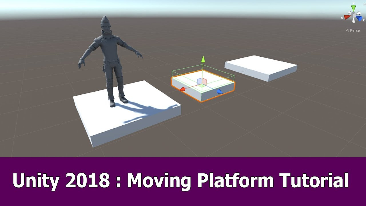 Unity Moving Platform Tutorial