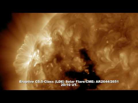 SOLAR ACTIVITY UPDATE: C5.5-Flare/CME, G2-Geomagnetic Storm: April 20th, 2017.