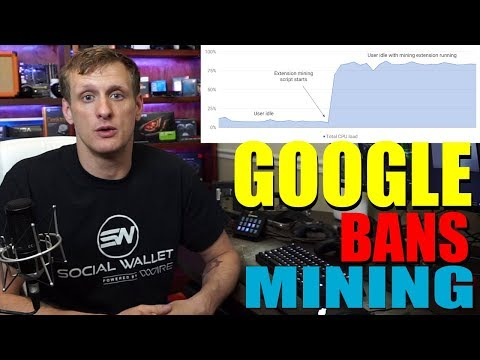 Google Bans Cryptocurrency Mining Extensions From Chrome
