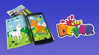 Інструкція до Живих Розмальовок DEVAR kids
