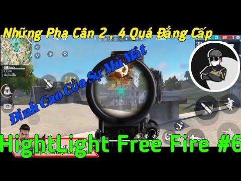 HightLight Free Fire #6 - Những Pha Cân 2 , 4 Đỉnh Cao Của Sự Mù Mắt - Quang Scar