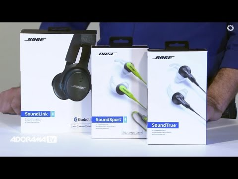 Bose In-ear And On-ear Headphones: Product Overview: AdoramaTV