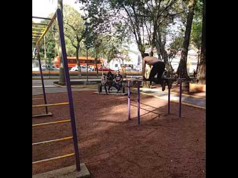 Orizaba, Veracruz; Street Vacation Calisthenics Workout #Barstarzz