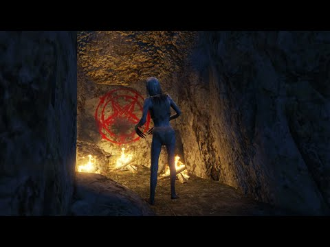 What Happens If You Visit This Cave In GTA 5? (Witch Easter Egg)