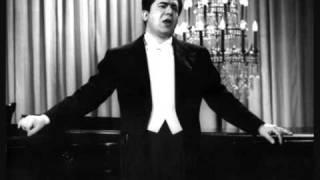 Giuseppe di Stefano. Parlami d´amore Mariù. Bixio. Studio 1959.