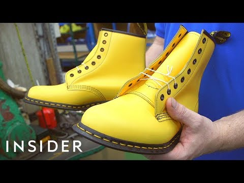 How Dr. Martens Are Made