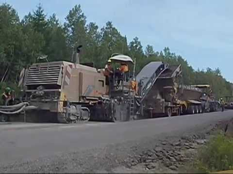 Full Depth Asphalt Recycling Overview