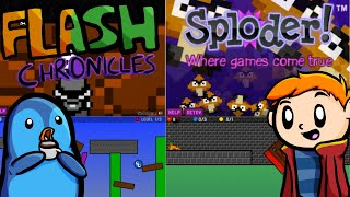 My Sploder Games: Flash Chronicles