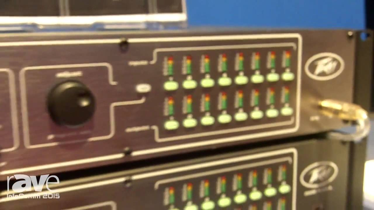 infocomm 2015 peavey gives rave details on the mx16 digitool audio