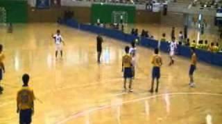 20100711【男子】西日本学生選手権大会、福岡大学vs朝日大学