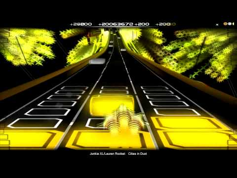 Audiosurf - Junkie XL ft. Lauren Rocket - Cities In Dust