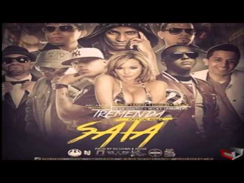 Arcangel Ft. De La Ghetto, Plan B, Daddy Yankee Y Nicky Jam-Tremenda Sata Official Remix
