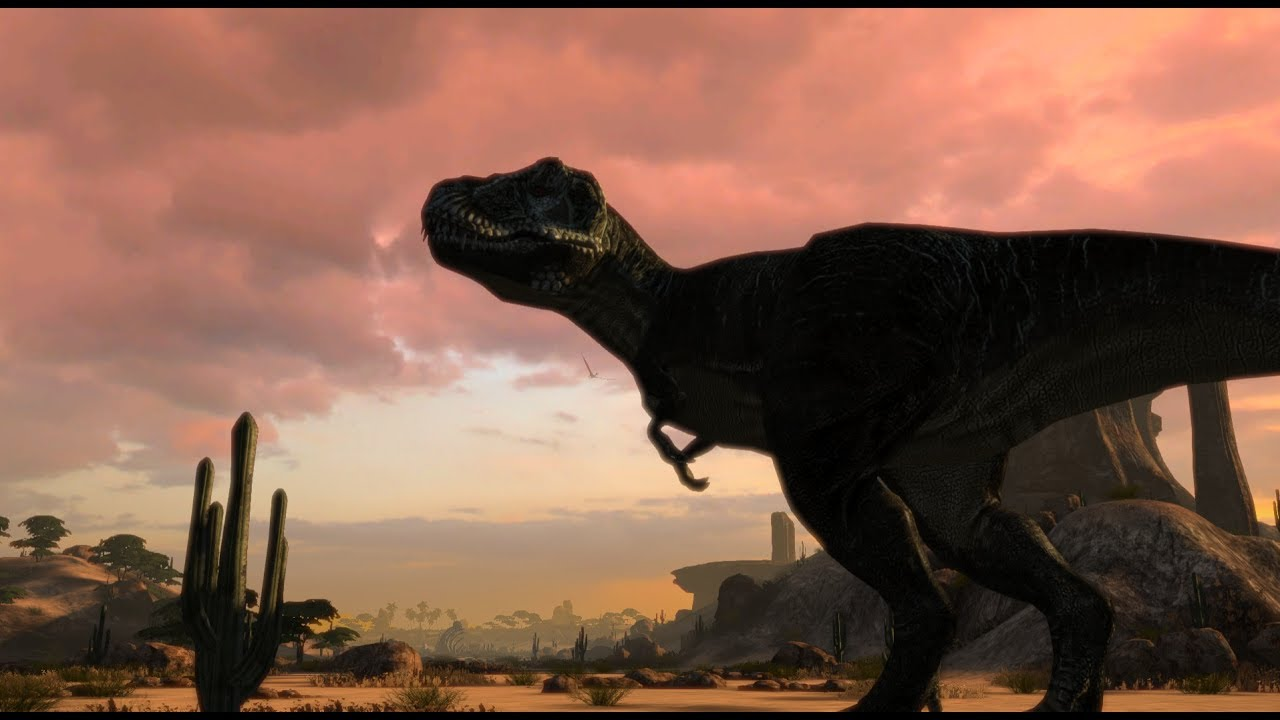 carnivores dinosaur hunter reborn trex murder montage